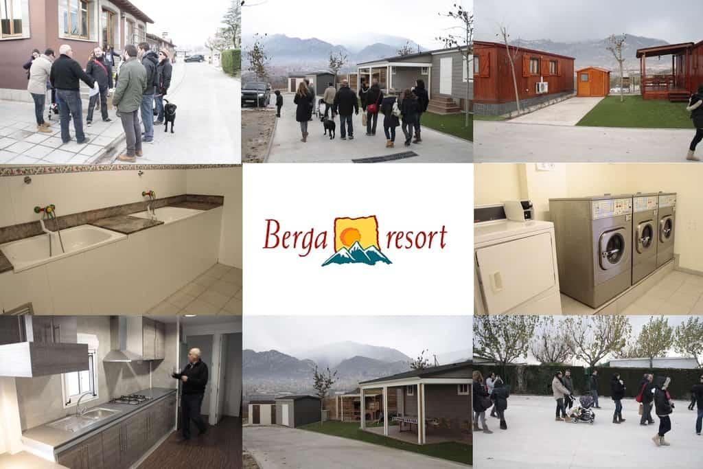 Berga Resort por la nave del bebe