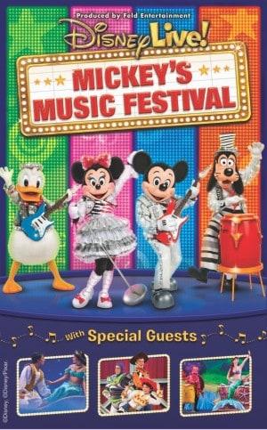 Entradas Disney Music Festival Gratis