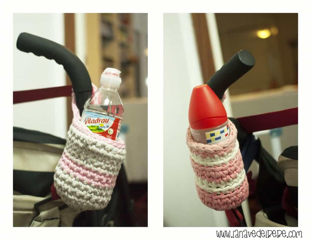 Porta biberones de trapillo facilísimo manualidades