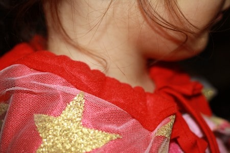 capa de super heroe para niña