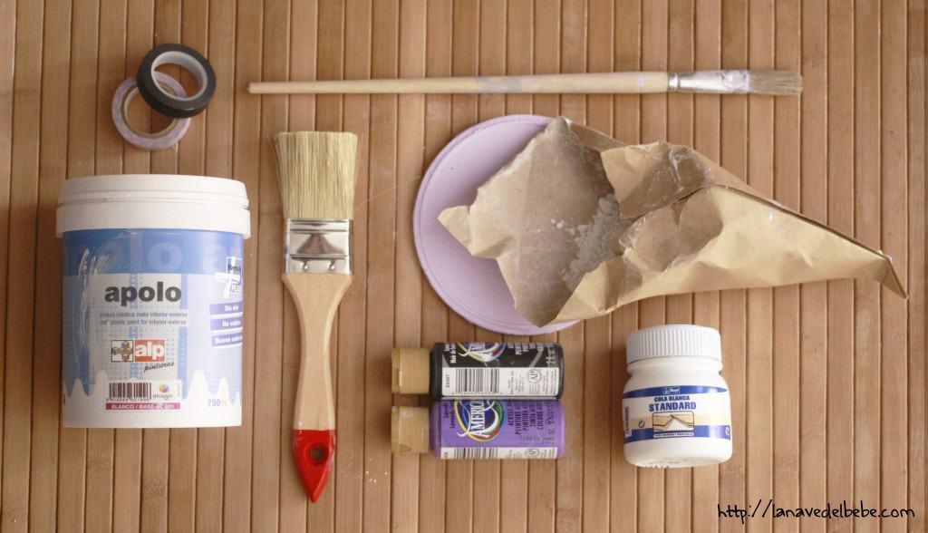 Hacer chalk paint en casa