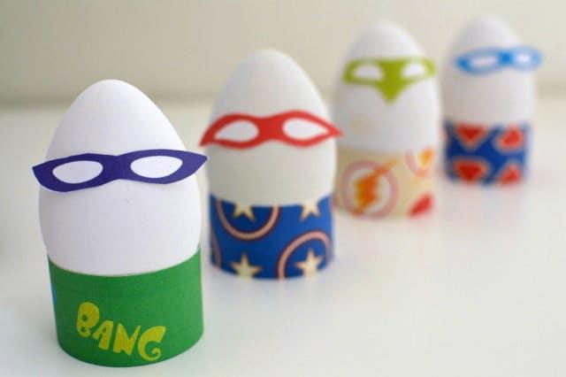 Huevos de pascua superheroes
