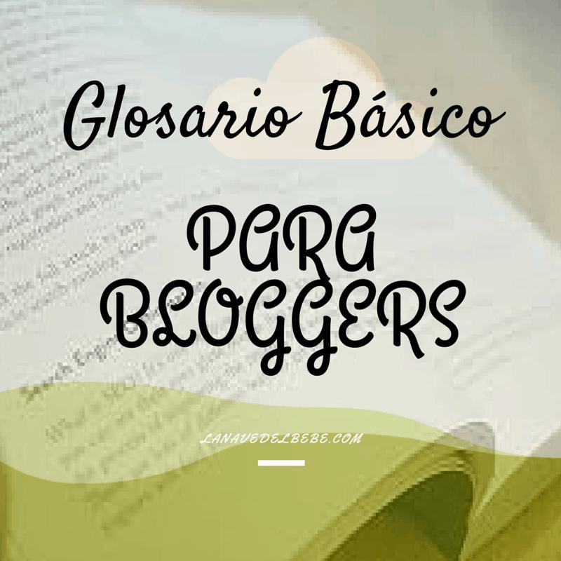 Glosario basico para bloggers