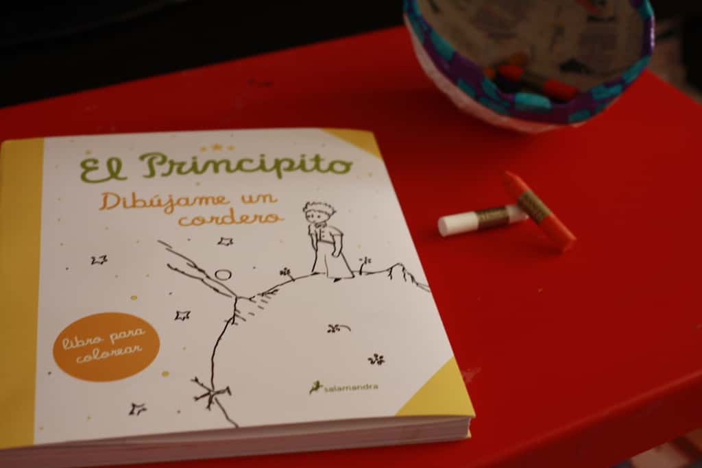 El principio dibujame un cordero