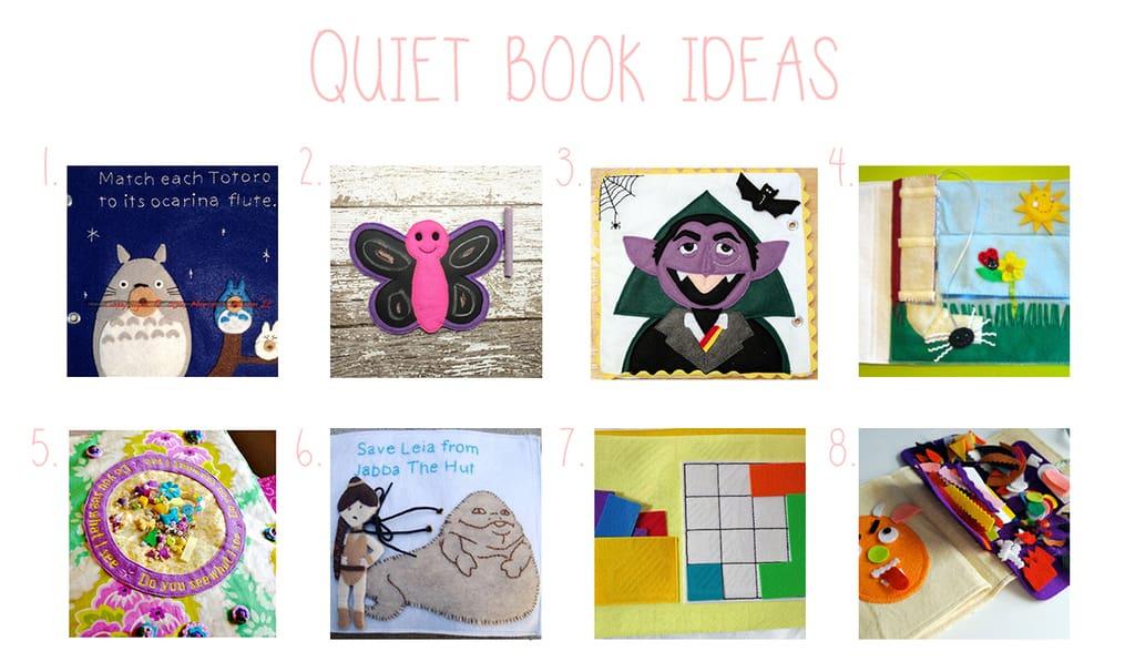 Qué es un quiet book