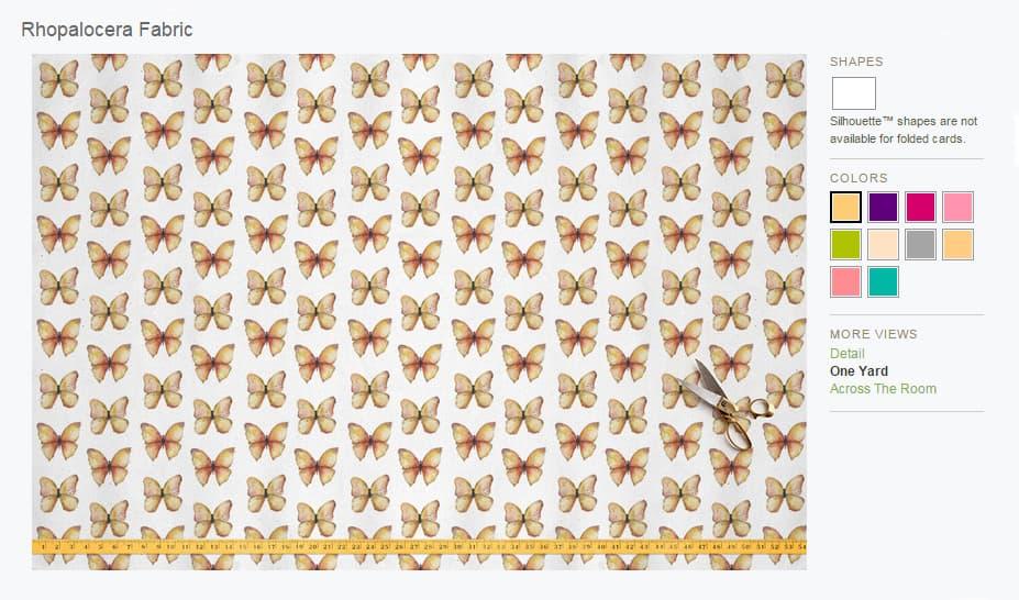 comprar tela de mariposas