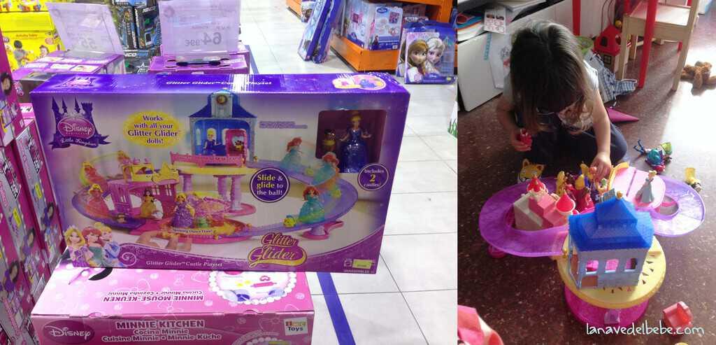 castillo muñecas magicli princesas