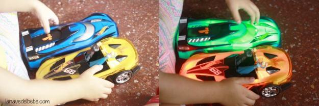 Hot Wheels coches con luces