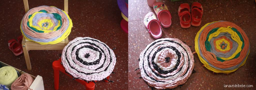 alfombra en aro hulla hoop