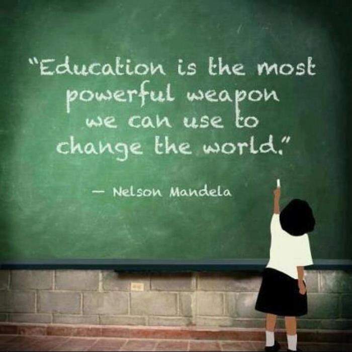 education to change the world