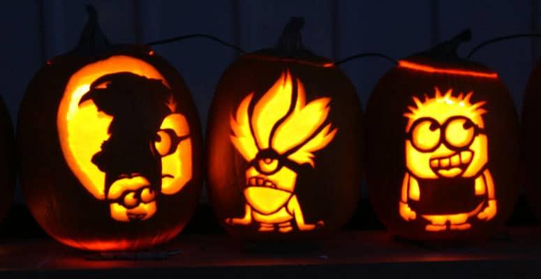 calabazas para halloween flipantes