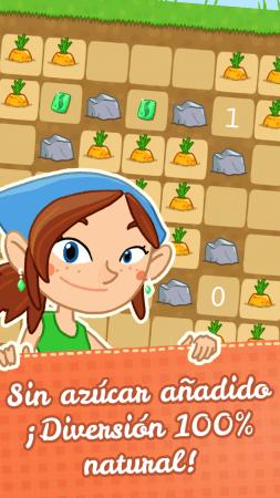 juego para niños de vegetales