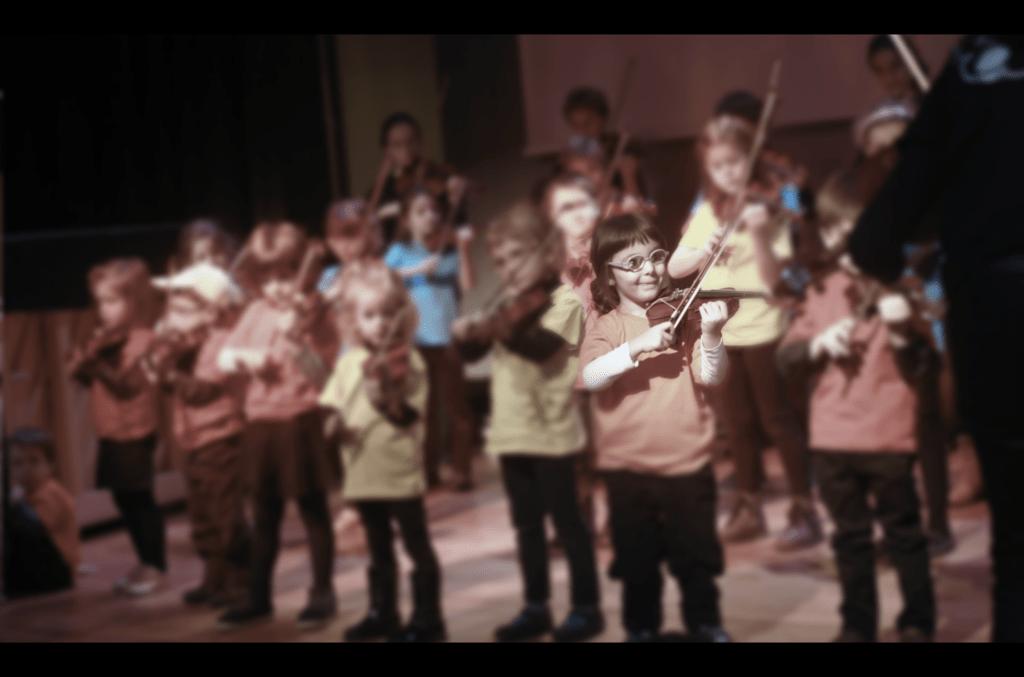 concierto violin para niños