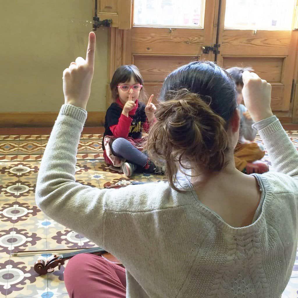 aprender violin de niños