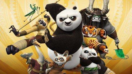 Kung fu panda 3 años