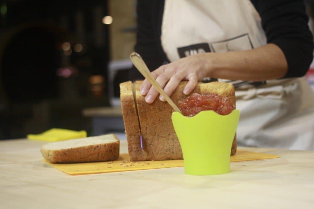 pan y mermeladas con panificadora Lidl