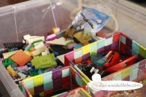Manualidades con Lego: Laberinto de canicas