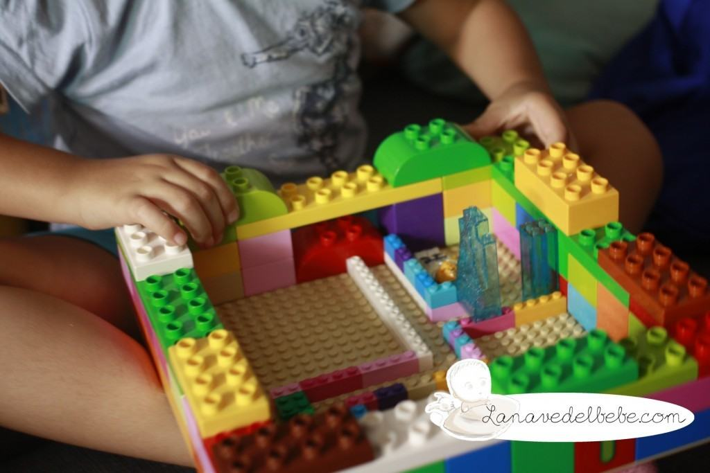 laberinto con lego