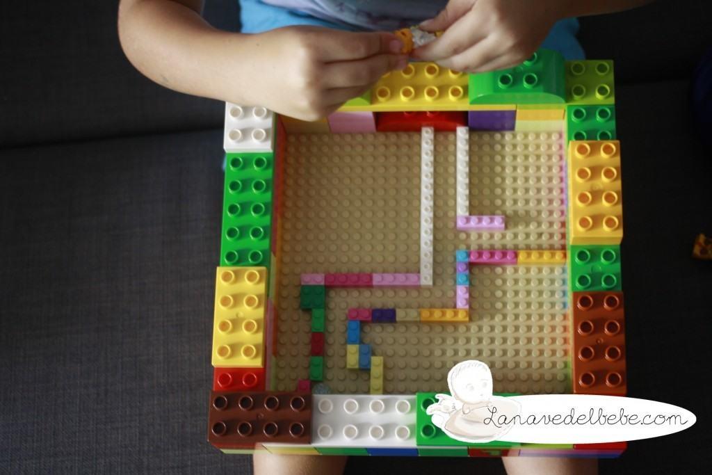 juguetes de lego: laberinto de canicas
