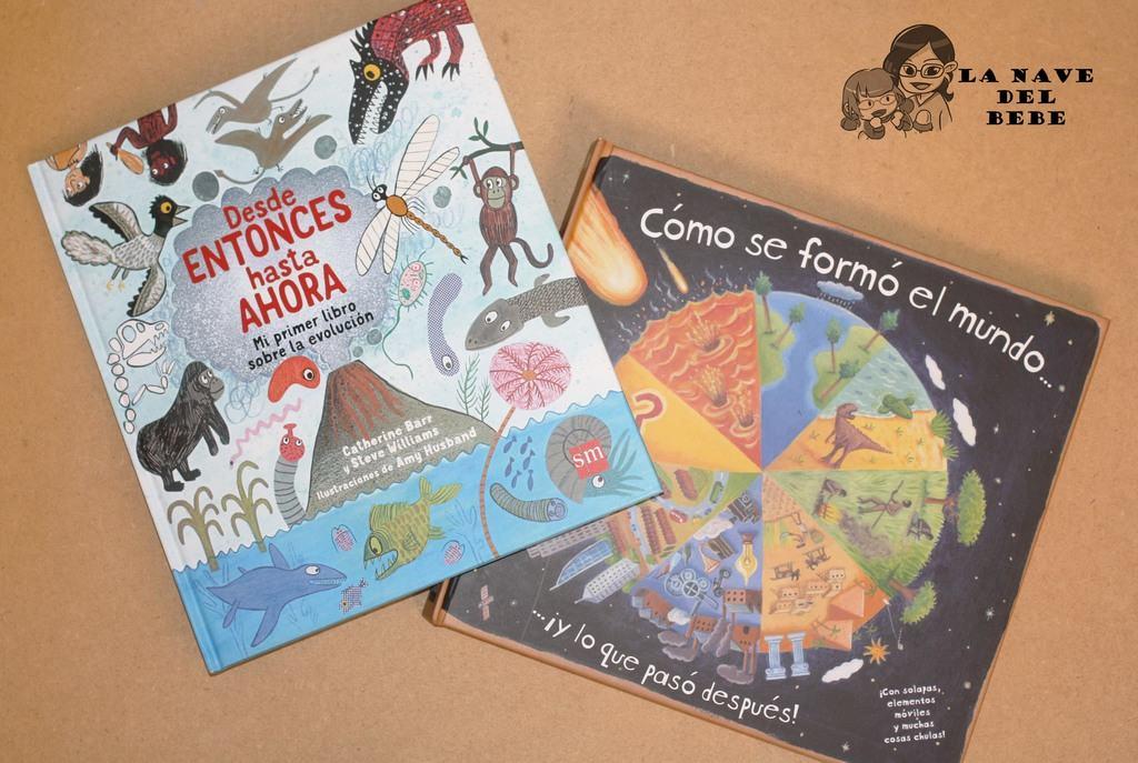 Libros para niños sobre la evolución