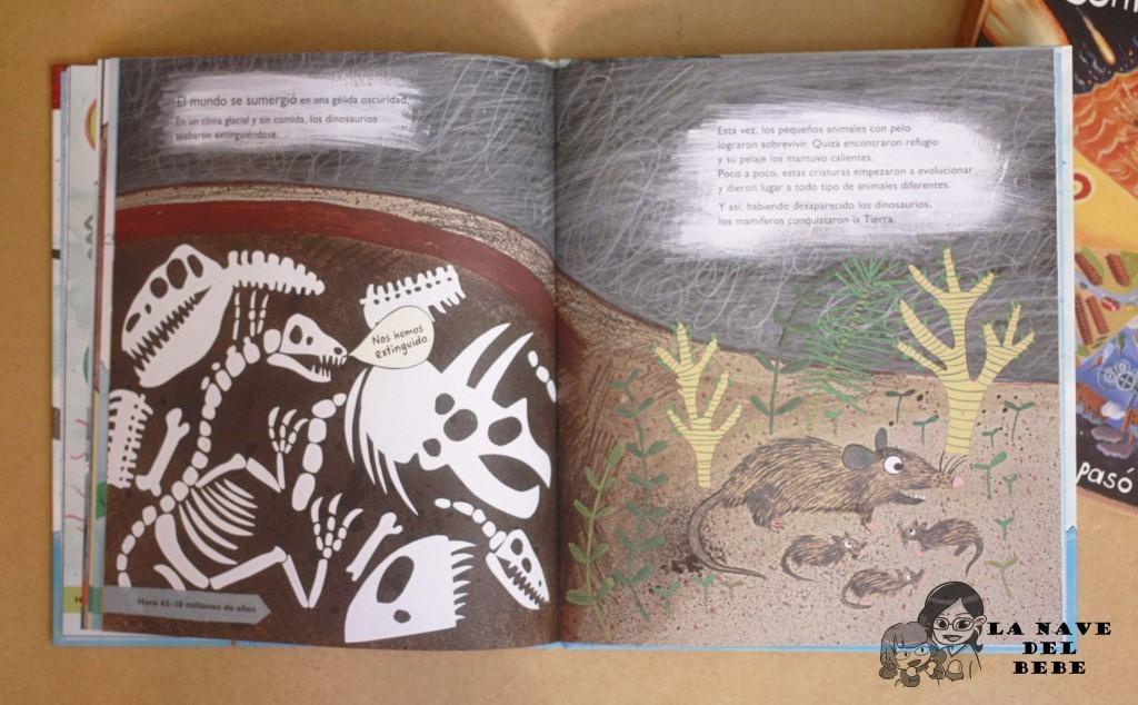 Libros para niños sobre la evolución animal