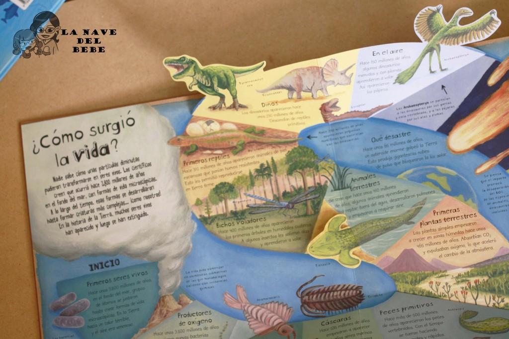 Libros para niños sobre la evolución y el universo SM
