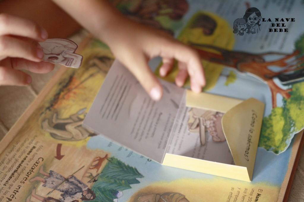 Libros para niños sobre la prehistoria y evolución