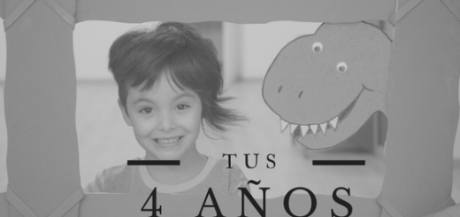 4 años dinosaurio