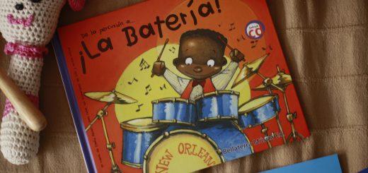 bateria para niños
