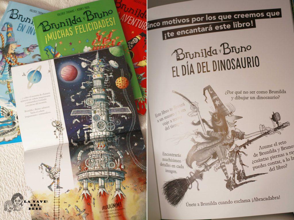 opinion libros bruno y brunilda