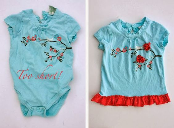cef627a7f03de 16 ideas originales para reciclar o reconvertir la ropa de tu bebé