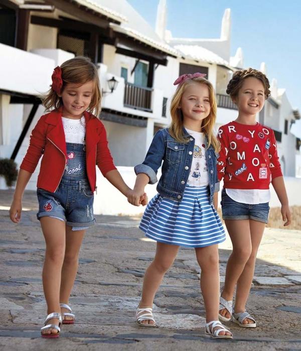 3c99e2c0773d Moda para niñas todoterreno! Llega el buen tiempo con Mayoral