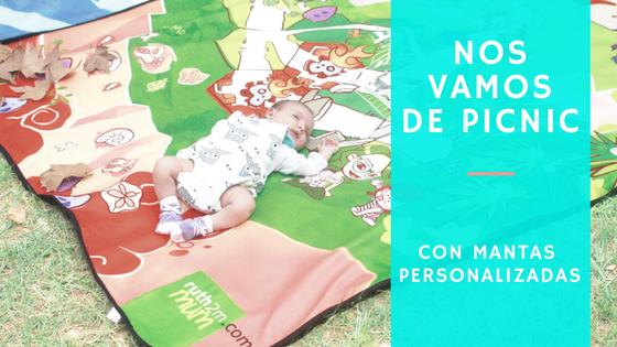 MANTAS DE PICNIC PERSONALIZADAS