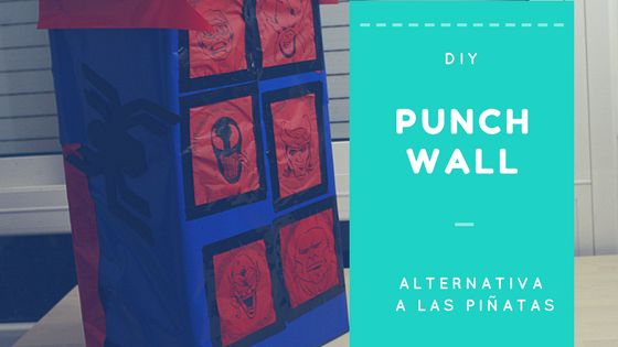 DIY how to do a birhday punch wall