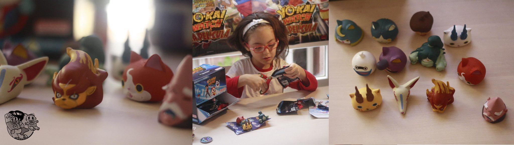 Yokai juguetes cabezones