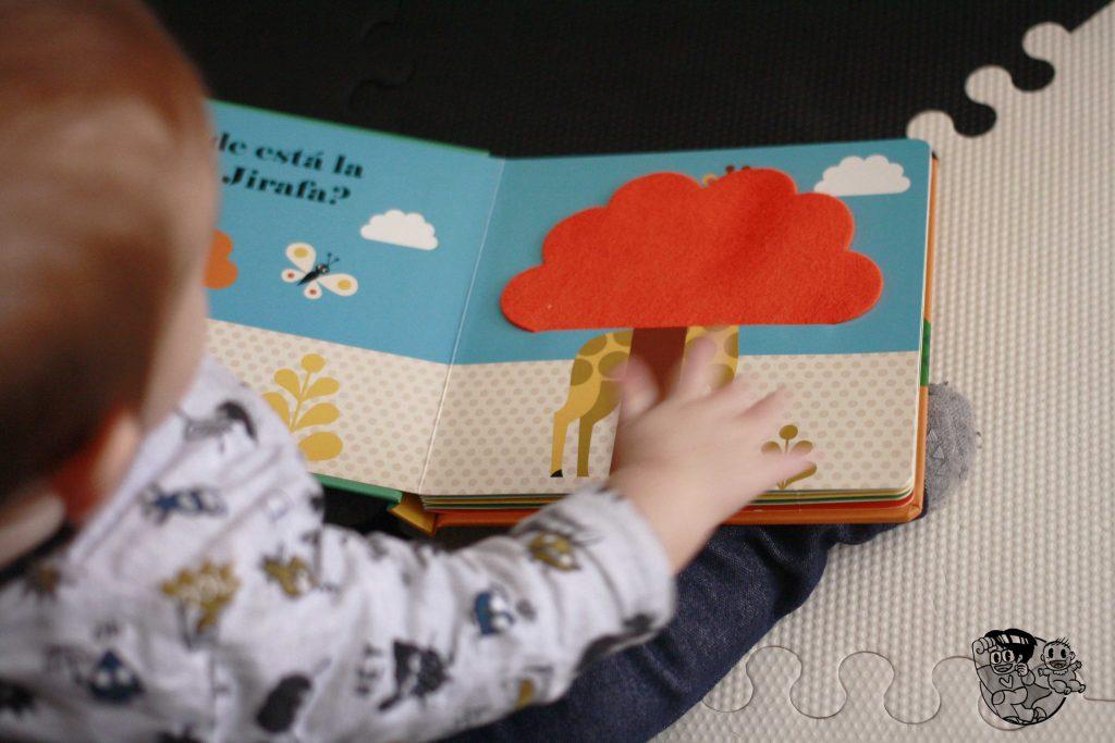 Primeros cuentos para bebés: ¿Dónde está el león? • La nave del Bebé
