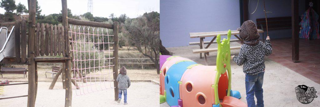 parque exteriores en vilars rurals
