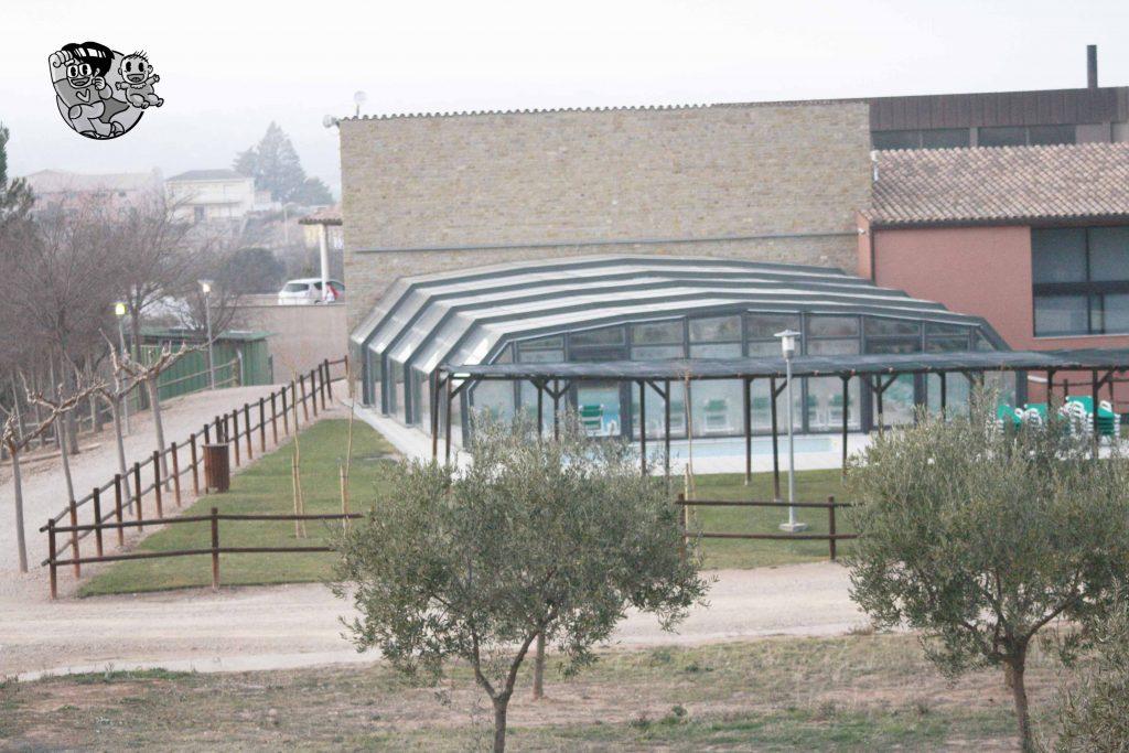 piscina climatizada en vilars rurals