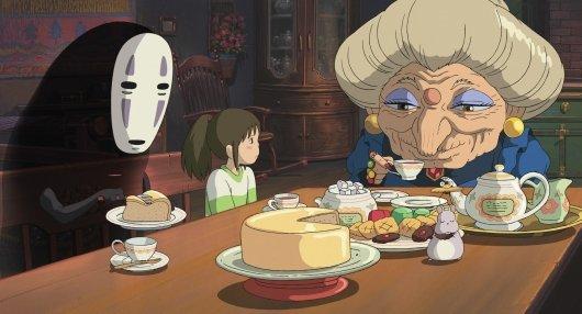 imagen del viaje de chihiro