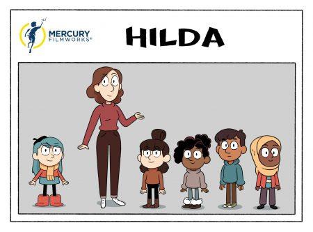 personajes de la series de animación HILDA